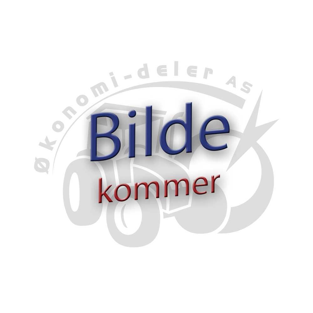 Verktøykasse orange 11 x 12 x 42 cm